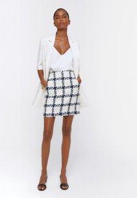 Uterqüe - Mini skirt - dark blue - 1
