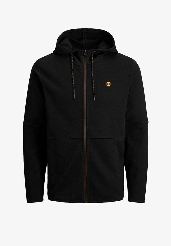 Jack & Jones Bluza rozpinana - black/czarny Odzież Męska WDYT