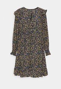 Scotch & Soda - PRINTED DRAPEY DRESS WITH SHOULDER RUFFLES - Jurk - multicoloured - 3
