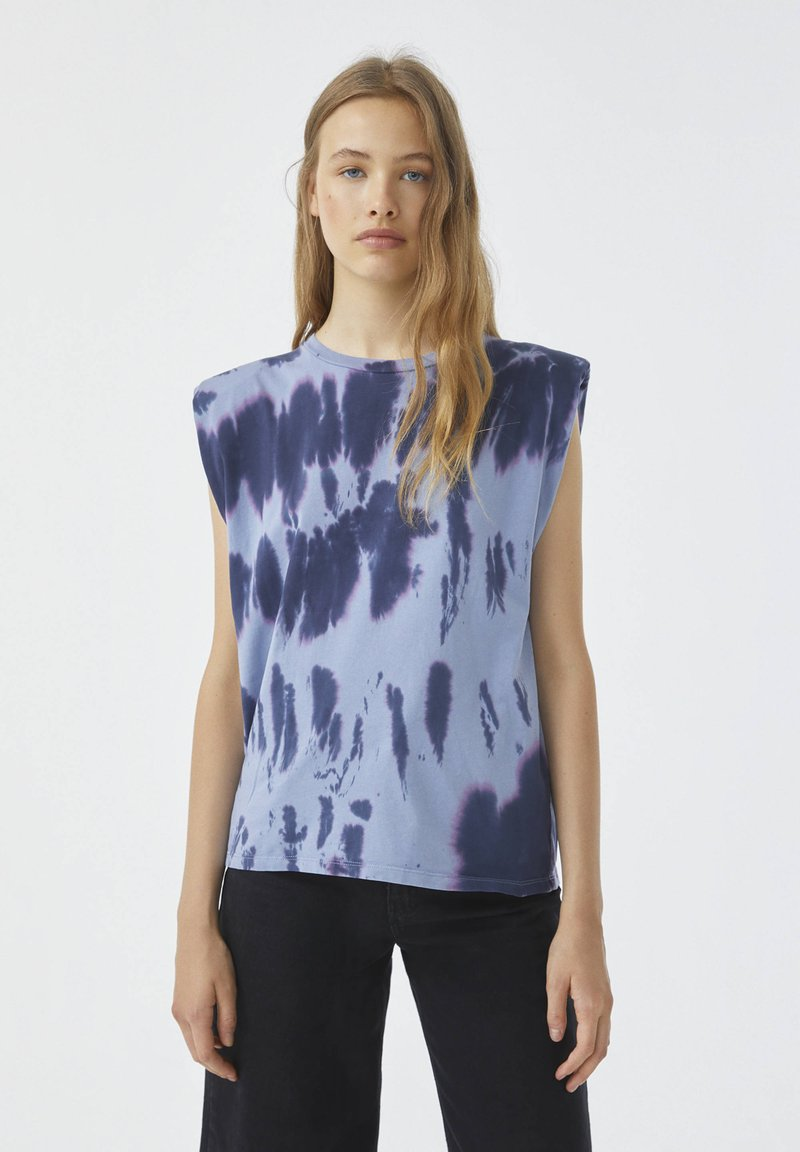 PULL&BEAR - Top - blue