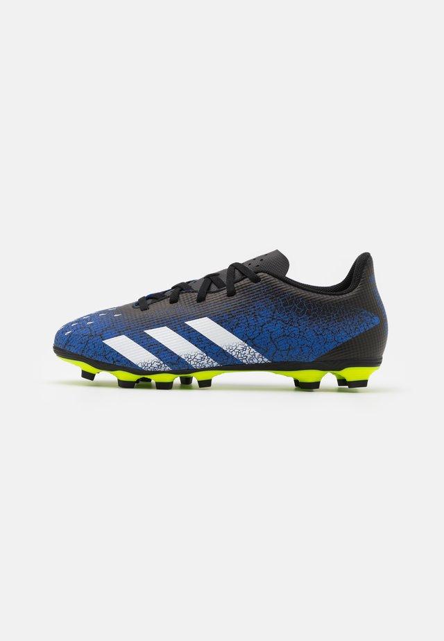 PREDATOR FREAK .4 FXG - Fodboldstøvler m/ faste knobber - royal blue/footwear white/core black
