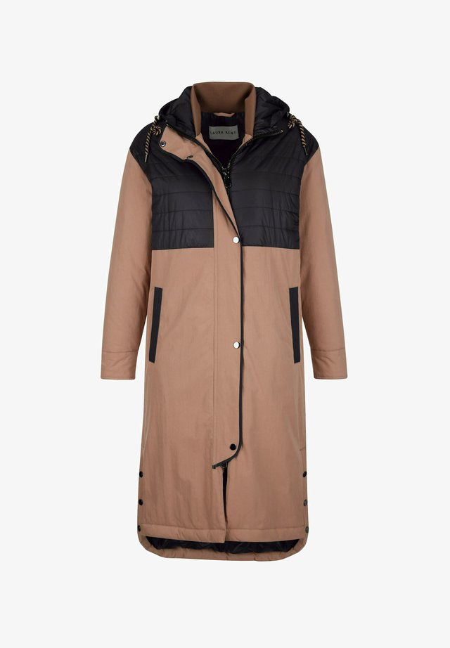 Winter coat - braun,schwarz
