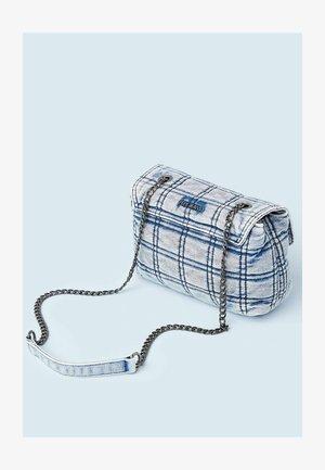 LEMOS - Across body bag - blue denim