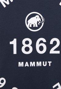 Mammut - SEILE MEN - Print T-shirt - marine - 2