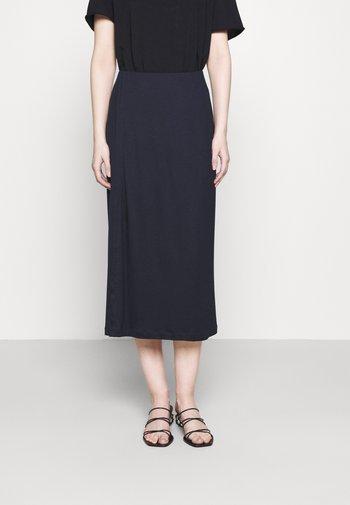 VIOLA SKIRT - Áčková sukně - navy