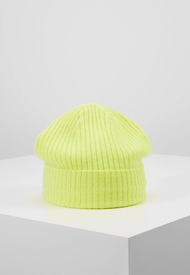 Czapka - fluo yellow