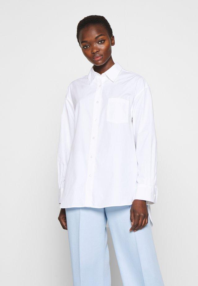 SAMMY - Button-down blouse - white