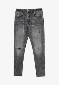 PULL&BEAR - Slim fit jeans - grey - 6