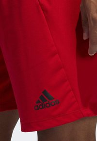 adidas Performance - 4KRFT SPORT ULTIMATE 9-INCH KNIT SHORTS - Shorts - red - 4