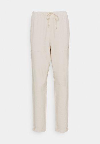 Pantalon de survêtement - soft creme beige