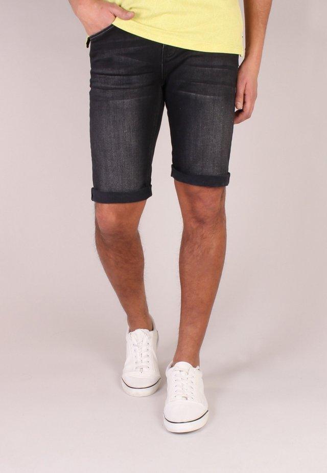 Shorts di jeans - denim black