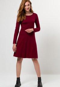 zero - Jumper dress - claret red - 1