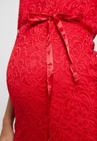 MAMALICIOUS - MLMIVANA DRESS - Vestido de cóctel - barbados cherry - 6