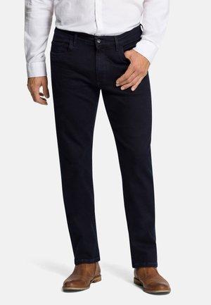 RANDO - Slim fit jeans - blue/black denim