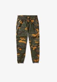 Timberland - YC CAMO UTILITY  - Spodnie treningowe - duffel bag/wheat boot house camo - 4