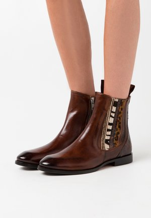 LEXY - Classic ankle boots - wood