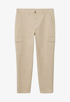 ASHER - Cargo trousers - beige