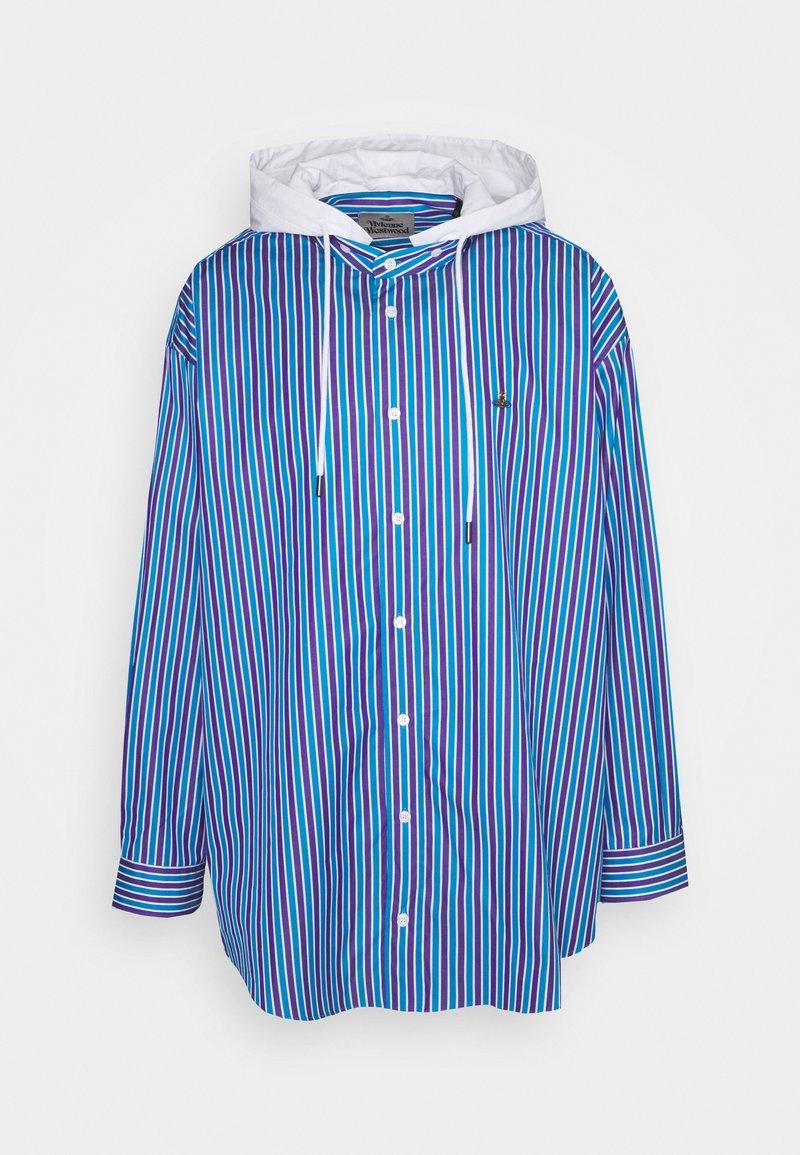 Vivienne Westwood - HOODIE SHIRT - Shirt - blue/purple/white