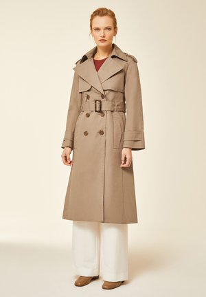 IVY & OAK - Trenchcoat - dark toffee