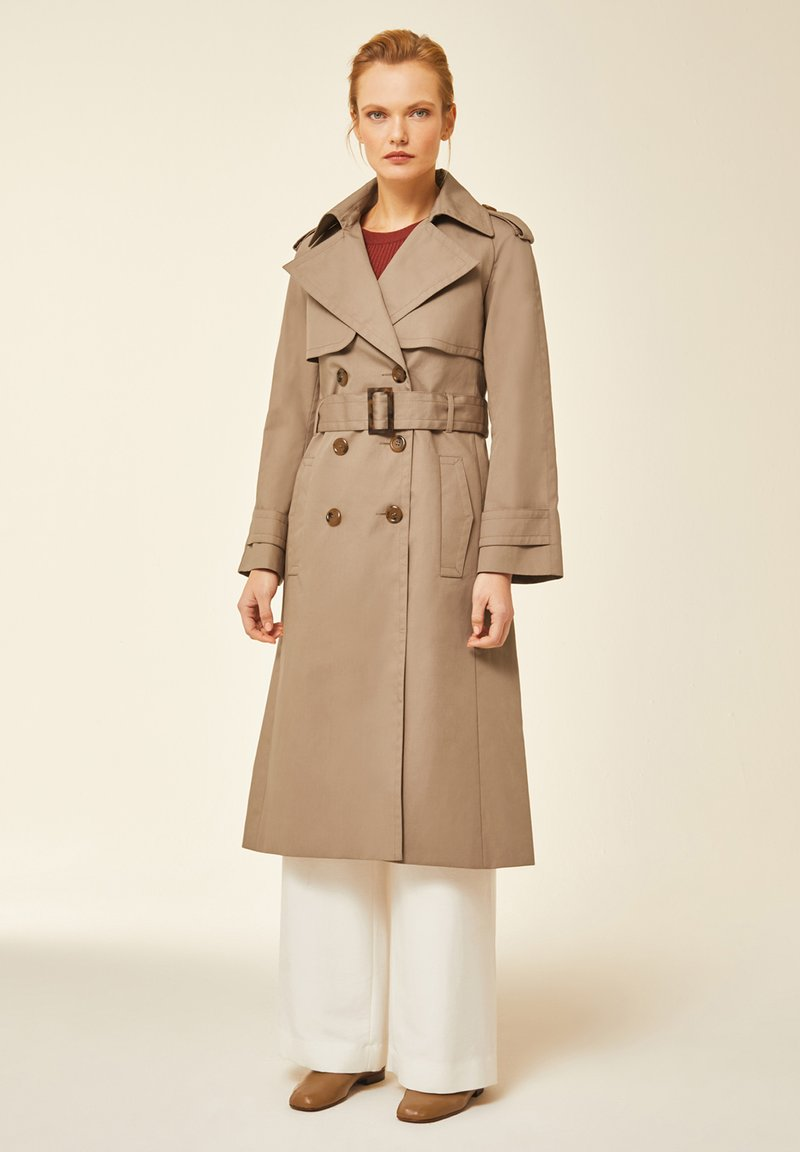 IVY & OAK - IVY & OAK - Trenchcoat - dark toffee