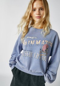 PULL&BEAR - Sweatshirts - mottled blue - 3