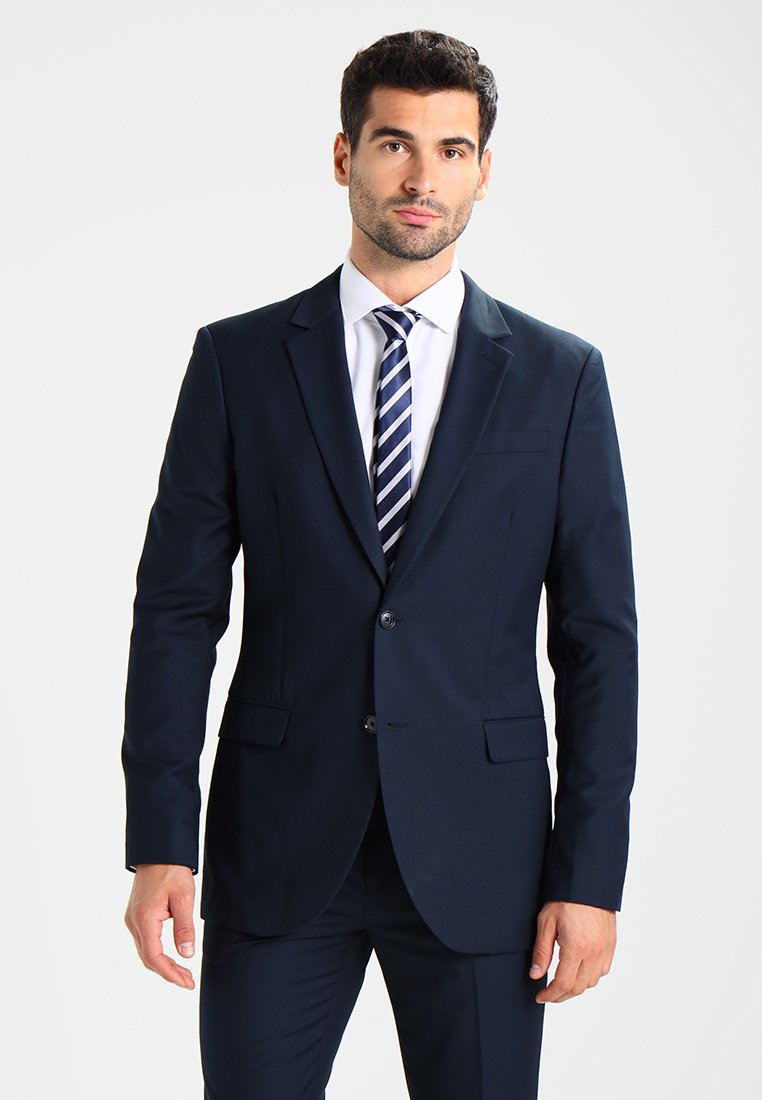 Pier One - Suit - dark blue