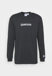 adidas Originals - THE SIMPSONS KRUSTY BURGER - Långärmad tröja - black - 3