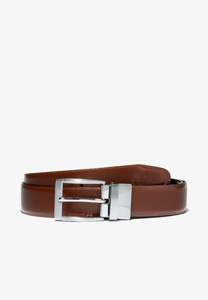 REVERSIBLE - Belt - cognac