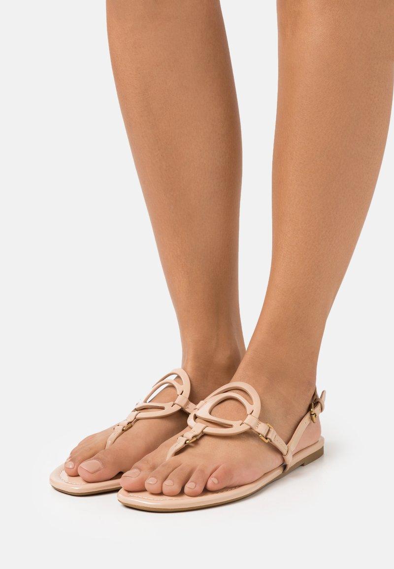 Coach - JERI - T-bar sandals - beechwood