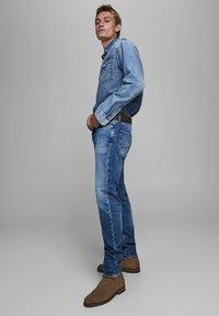 Jack & Jones - FRED ORIGINAL  - Straight leg jeans - blue denim - 3