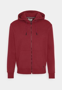 Springfield - BASICA ABIERTA - Zip-up hoodie - red - 4