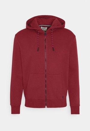 BASICA ABIERTA - Zip-up hoodie - red