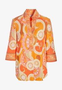 Dea Kudibal - KAMI (V) - Button-down blouse - khanga orange - 3
