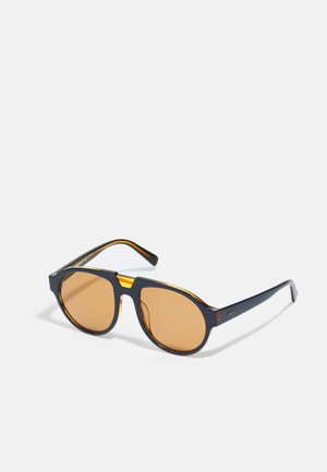 UNISEX - Sunglasses - blue/amber