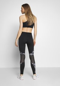 Lotto - VABENE LEGGING  - Leggings - all black/bright white - 2