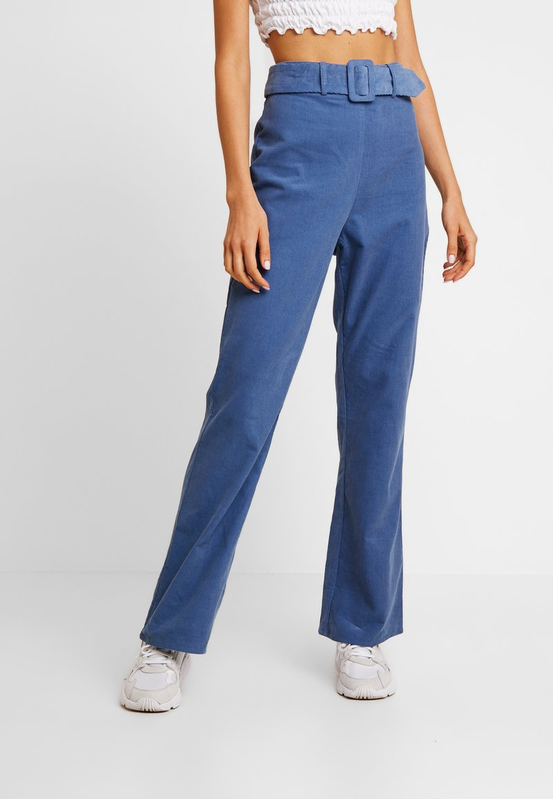 Fashion Union - LONGSAM - Pantaloni - blue