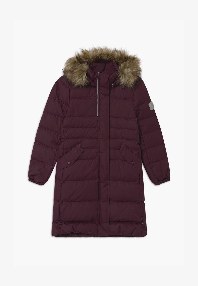 Reima - SATU UNISEX - Kabát zprachového peří - deep purple
