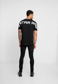 G-Star - KORPAZ LOGO - Print T-shirt - dark black - 2