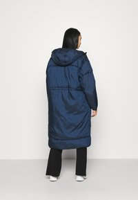Weekday - ALLY LONG PUFFER - Winter coat - navy - 2