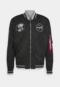 Alpha Industries - NASA VOYAGER - Bomber Jacket - black - 0