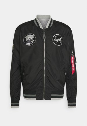 NASA VOYAGER - Giubbotto Bomber - black