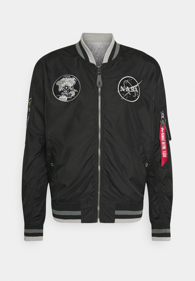 NASA VOYAGER - Bomber Jacket - black