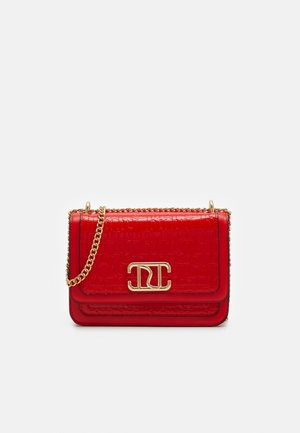 DOUBLE BAG SATCHEL - Skulderveske - red