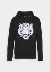 ELECTRIC TIGER HOODY - Sweatshirt - black