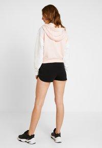 Nike Sportswear - Zip-up hoodie - echo pink/birch heather/white - 2