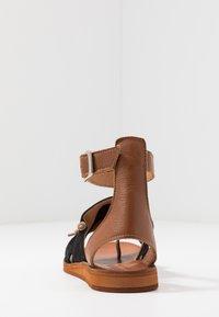Felmini - CAROLINA  - T-bar sandals - black - 5