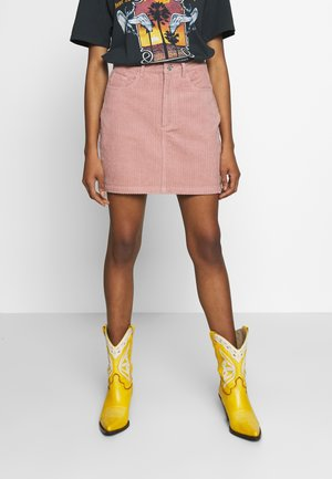 JUMBO MINI - Mini skirt - blush