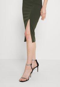 WAL G. - JAYNE LEE HALTER NECK DRESS - Cocktail dress / Party dress - khaki - 4