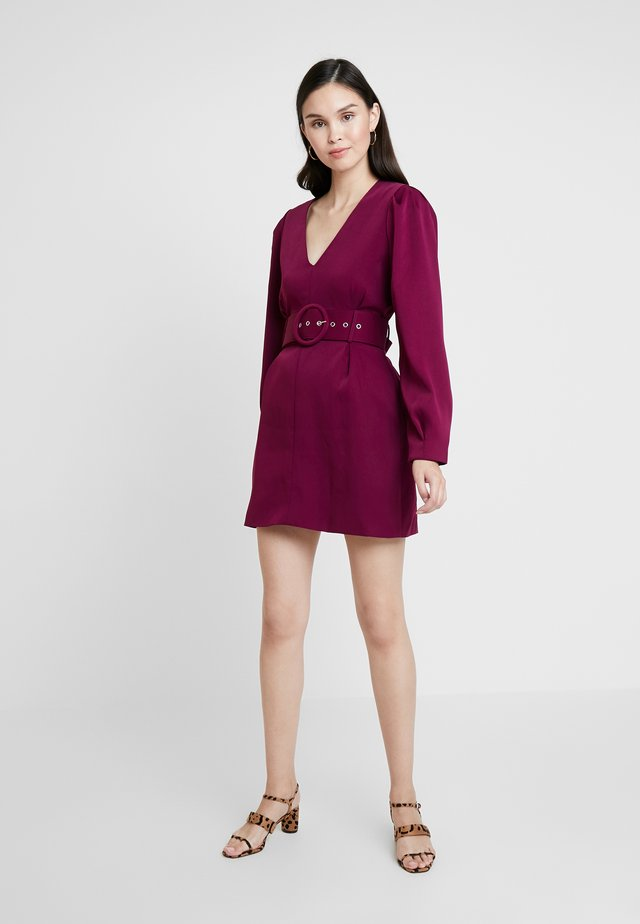 COME MY WAY DRESS - Korte jurk - mulberry