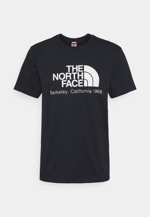 BERKELEY CALIFORNIA TEE - T-shirt con stampa - aviator navy
